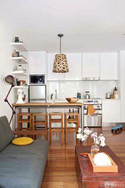 经典60平方二居室小户型装修效果图