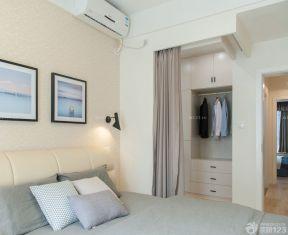 60平方兩室一廳裝修效果圖 隔斷簾裝修效果圖片