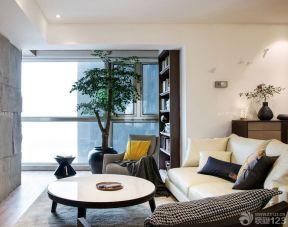 60平方兩室一廳裝修效果圖 客廳兼書房裝修效果圖