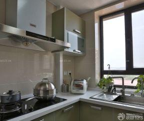 60平方兩室一廳裝修效果圖 廚房瓷磚效果圖