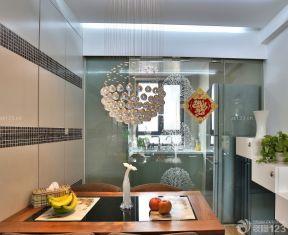 60平方兩室一廳裝修效果圖 小餐廳裝修效果圖片