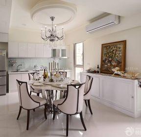 60平方兩室一廳廚房餐廳一體裝修效果圖-每日推薦
