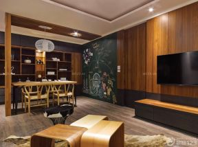 60平方兩室一廳客廳裝修效果圖 客廳餐廳裝修效果圖