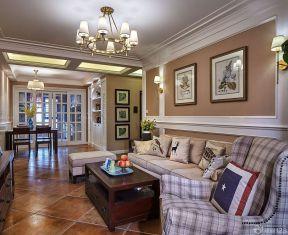 60平方兩室一廳客廳裝修效果圖 裝飾畫裝修效果圖片
