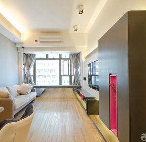 60平方兩室一廳長方形客廳裝修效果圖片-每日推薦