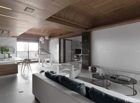150平米房子装修效果图 木质吊顶