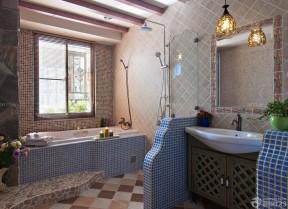 150平米房子装修效果图 地中海风格装修图