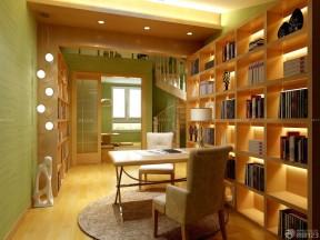 150平米房子装修效果图 家装书房