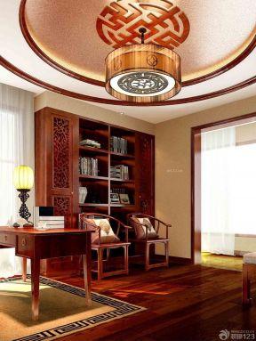 150平米房子装修效果图 书房设计