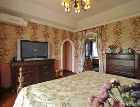 150平米房子装修效果图 卧室壁纸装修效果图