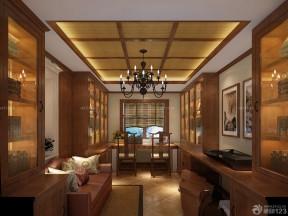 150平米房子装修效果图 中式家装效果图