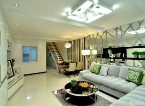 150平米房子装修效果图 客厅吸顶灯