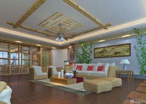 150平米房子装修效果图 客厅吊顶装潢