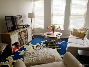 一室一廳50平方小戶型裝修 百葉窗簾