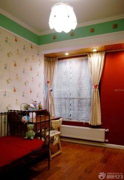 90平兩室兩廳臥室窗戶裝修案例