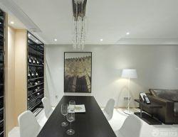 90平兩室兩廳餐廳餐桌裝修案例圖片
