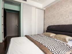 90平兩室兩廳家居臥室裝修案例圖片
