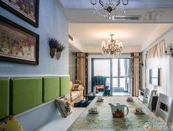 90平兩室兩廳家庭餐廳裝修案例