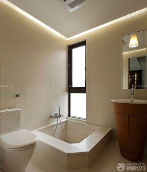 两室一厅90平装修 浴池装修