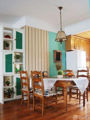 90平兩室兩廳裝修案例 餐廳背景墻