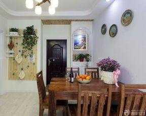 90平兩室兩廳裝修案例 餐廳室內裝修