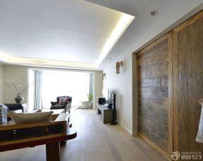 90平米兩室兩廳裝修方案 簡約室內裝修