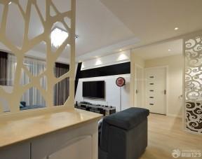 90平兩室兩廳簡約裝修 室內門圖片