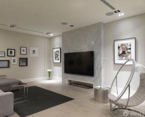 90平兩室兩廳簡約裝修 客廳裝修圖樣