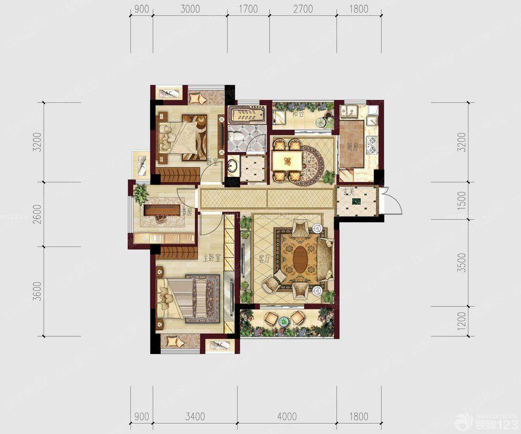 120平方房子平面设计图_自建120平方房子设计图