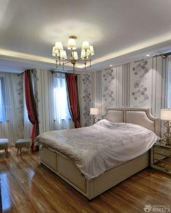 120平三室兩廳2衛歐式臥室壁紙裝修效果圖