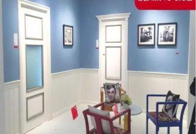 3D木门2016新品发布会轰动木门展!意大利设计公司现场签约!