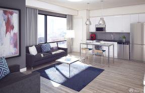70平米小戶型樣板房 淺色木地板