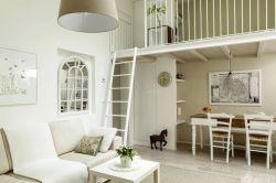 loft风格70平米带阁楼小户型装修效果图图片