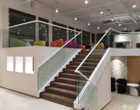 办公室装修效果图 玻璃楼梯扶手图片