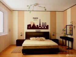 溫馨120平三室兩廳條紋壁紙裝修效果圖