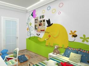 臥室背景墻效果圖 兒童臥室裝修效果圖