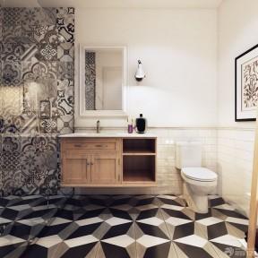 120平米三室兩廳兩衛裝修 衛生間設計