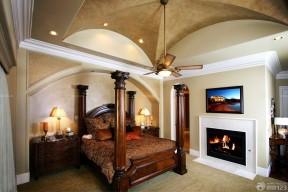 交換空間 地中海 臥室吊頂設計