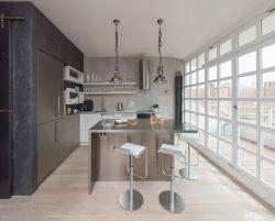 交換空間50平小戶型開放式廚房裝修設計