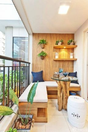 交换空间阳台设计 沙发垫装修效果图片