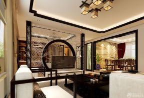 客厅隔断装修效果图 农村自建别墅设计图图片