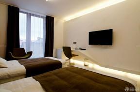 家庭裝修電視背景墻 臥室設計