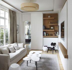 家裝交換空間客廳吊頂設計-每日推薦