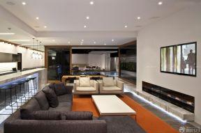 現代客廳 簡約電視背景墻