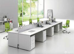 簡約辦公室隔斷式辦公桌設計大全