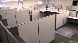 辦公室隔斷式辦公桌效果圖片