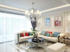 客廳吊頂圖片 歐式風格