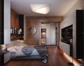 卧室装潢设计 现代灯具