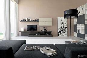 客廳電視墻 簡約電視背景墻圖片
