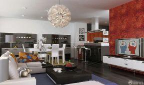 客廳吊頂燈 現代風格家居